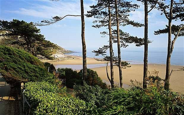 Welsh riviera Gower Coast